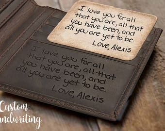 Personalized Gift for boyfriend gift Valentines Gift for Him Personalized wallet Gift for men wallet men gifts personalized leather wallet