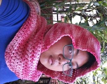 Cotton Crochet Scoodie Adult Plain