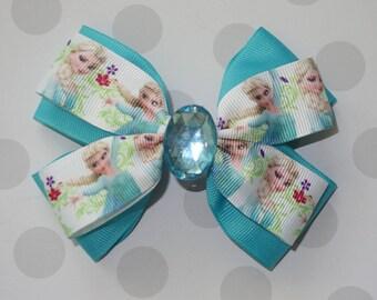 Ice Queen Hair Bow