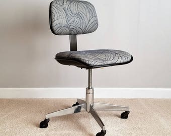 Mid Century Steelcase Office Chair – Swivel Desk Chair
