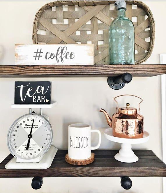 Rustic Floating Shelves, Pipe Shelf, Wood Shelves, Industrial Shelves, Floating Shelves, Floating Shelf, Wooden Shelves, JustKnotWood