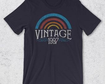 21st Birthday Gift for Her & Him -  21st Birthday Shirt - Vintage 1997 T-Shirt- Retro Men Women - 21st Birthday Gift Ideas  - 1997 Shirts