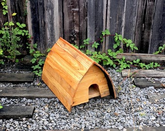 The Hedgepod HedgeHog house. Glamping pod