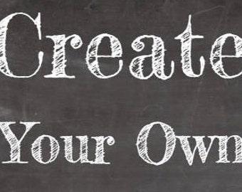 Medium Drum Lampshade - Create Your Own