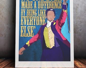 The Greatest Showman Minimalist A4/A3 Print