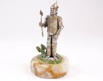 "1994 ""Tin Man"" Ron Lee's Wizard of Oz Figurine | Tin Woodman Rare & Beautiful Figurine | Limited Edition"