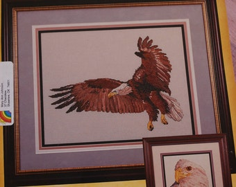 The Eagle, cross stitchpattern, by Cross My Heart, leaflet #CSB-111.