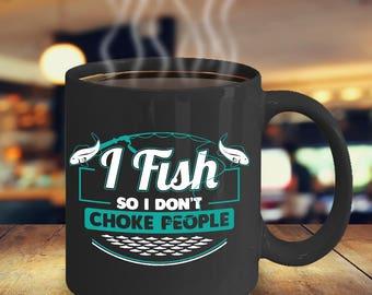 Fishing Coffee Mug - Funny Fishing Mug - Fishing Lover Coffee Mug-Deep Sea Fishing-Sports Fishing-Fly Fishing-Funny Gift for Fisherman