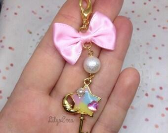 Jewelry bag - Star shaped key