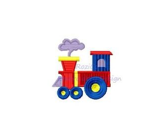 Train Locomotive Engine Puffer Boy Baby Child Machine Embroidery Designs 2x2 Instant Download Sale