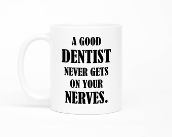 Dentist Mug, Dentist Gifts, Future Dentist, Dentist Cup, Dentist Coffee Mug, Thank You Dentist, Dental Mug,Dentist Graduation,Occupation Mug