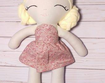Handmade Cloth Doll-Katie