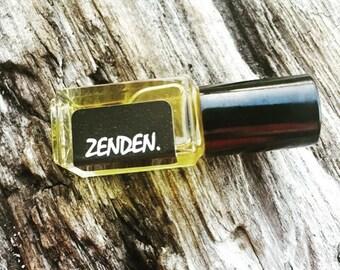 ZEN DEN.    Botanical Perfume Oil | Tabacco Flower | Vetiver