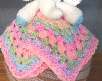 Cuddly crocheted amigurumi elephant