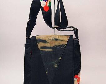 Kimono Patchwork Shoulder Bag