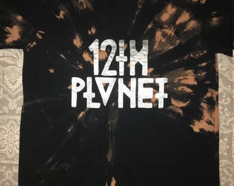 12th Planet- Bleached Shirt