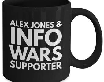 Black Coffee Mug - Alex Jones - Infowars