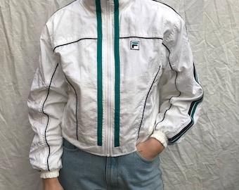 Vintage Women's FILA Windbreaker Jacket size Small