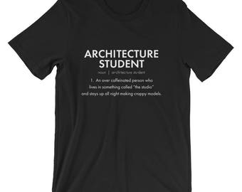 Architect Gift - Architecture Student T Shirt - Architectural Gifts