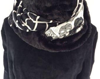 Three tube scarf.