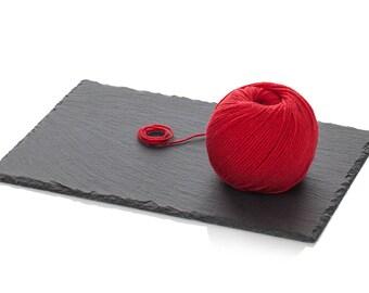 Pure Merino Yarn DK - Red Wool Yarn - Superwash Merino Yarn - Winter Wool Yarn - Light Worsted Yarn Red - Crochet Wool Yarn - 8-ply Red Yarn