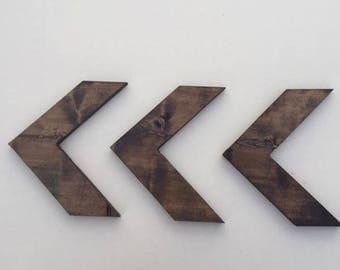 Wood Arrow Wall Decor
