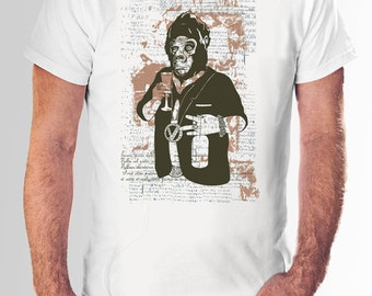 Future Ape Shirt | Ape Shirt | Monkey Shirt | Evolution Shirt | Ape Evolution Shirt | Hipster Shirt | Funny Ape Shirt