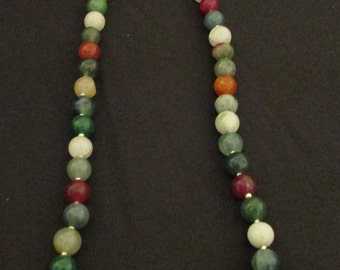 Malaysian Jade necklace 24""