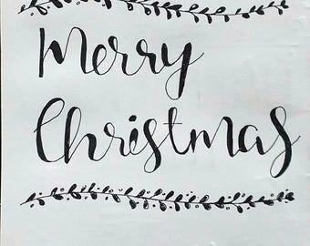Christmas Greeting card - Simple