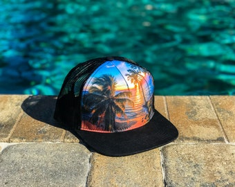 The Hawaiian, a Trucker Hat featuring photos from photographers on instagram