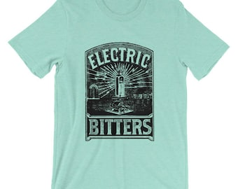 Electric Bitters | Victorian Medical Advertising | Unisex T-Shirt | Patent Medicine