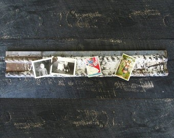 Recycled Memo Board Made From a Vintage Tin Ceiling Border