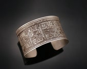 Nine Muses - Cuff Bracelet of New Orleans Historical Map
