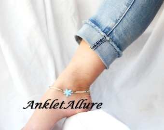 Anklet STARFISH Ankle Bracelet CRUISE Vacation Anklets for Women NECKLACE Available