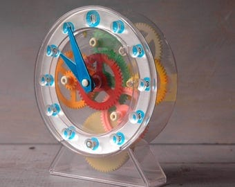 Gear Clock Toy