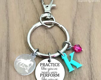 Equestrian Keychain, Equestrian Key Chain, Horse Keychain, Horse Key Chain, Horse Key Holder, Horse Keychain Personalized, Horse Gift Girls