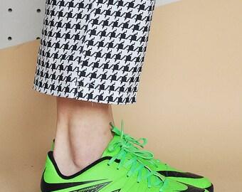 90s NIKE sneakers RUBBER sneakers neon sneakers SOCCER sneakers hypervenom sneakers nike trainers / Size 6.5 us / 4 uk / 37 eu