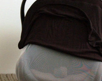 BLACK || Car Seat Canopy - Car Seat Cover - Baby Cover - NICU Car Seat Cover - Do Not Touch - Screen Car Seat Cover - Preemie Carseat Cover
