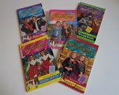 The Adventures of Mary Kate & Ashley Books 90s Instant Collection! Lot of 5 Books with Collectible Photo Cards, Olsen Twins, Full House