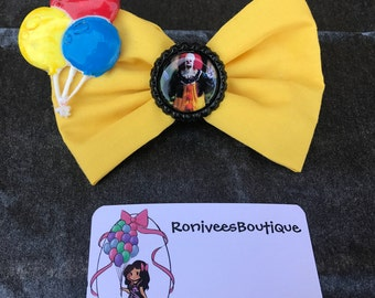 Pennywise The Dancing Clown Hair Bow