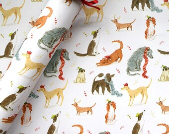Merry Woofmas Wrapping Paper