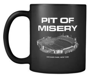 Pit of Misery Buffalo Bills Coffee Mug - Bills Mafia Coffee Mug - Dilly Dilly Coffee Mug
