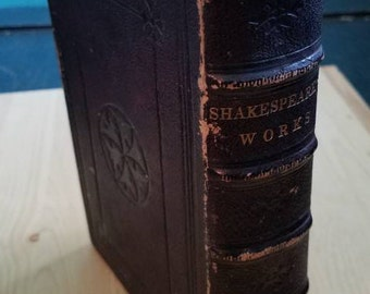 1866 Works of Shakespeare Globe Edition Book