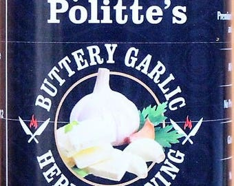 Chef Politte's Buttery Garlic Herb Seasoning