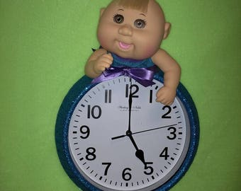 Cabbage Patch Cutie Mermaid Clock