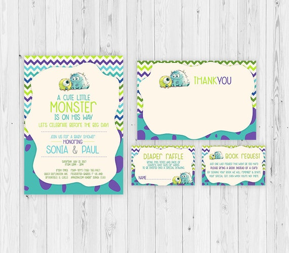 Attractive Monsters Inc, Monsters Inc Baby Shower Invitations, Baby Shower, Monsters  Inc Diaper Raffle, Monsters Inc Party Theme, Monsters Inc Party