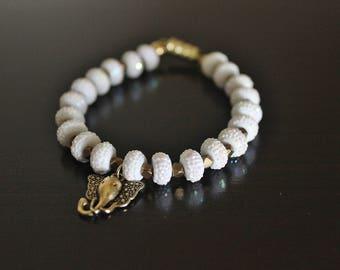 Elephant luck Charm Bracelet