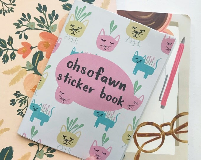 OhSoFawn Planner Sticker Book