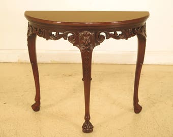 43717EC: BAKER Stately Homes Collection Mahogany Console Table