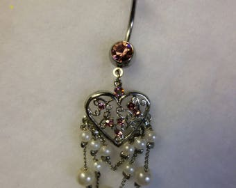 Piercing jewelry romantic love